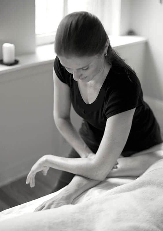 front body massage
