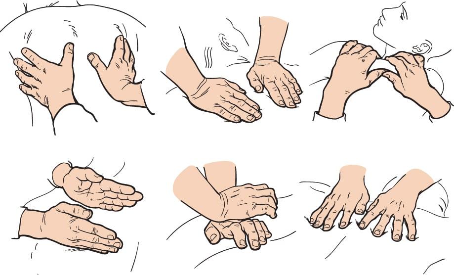 swedish massage types